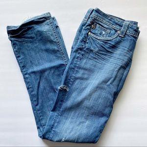 Mek Denim Azores Straight 32 Blue Jeans